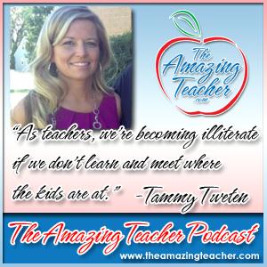 Tammy Tweten on the Amazing Teacher Podcast