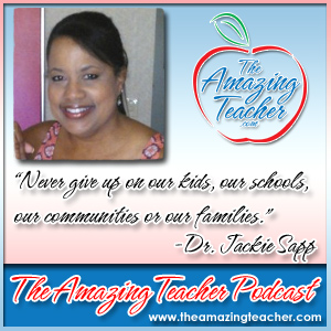 Dr. Jackie Sapp on the Amazing Teacher Podcast